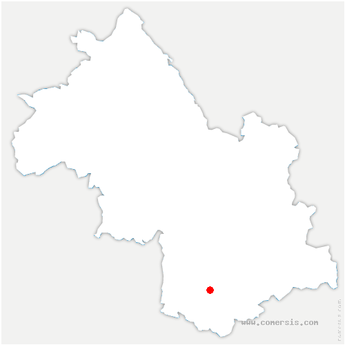 carte de localisation de Lavars