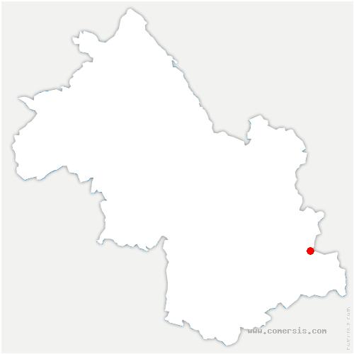 carte de localisation de Les Deux Alpes