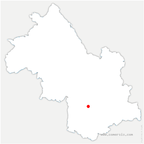 carte de localisation de Monteynard