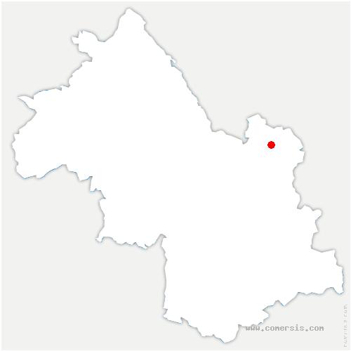 carte de localisation de Morêtel-de-Mailles