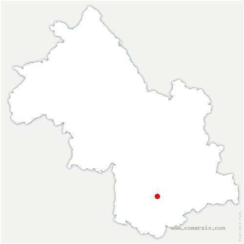 carte de localisation de Mure