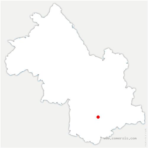 carte de localisation de Nantes-en-Ratier
