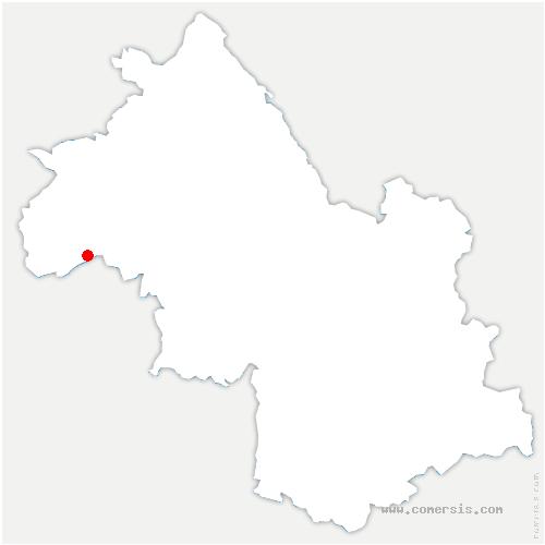 carte de localisation de Pact