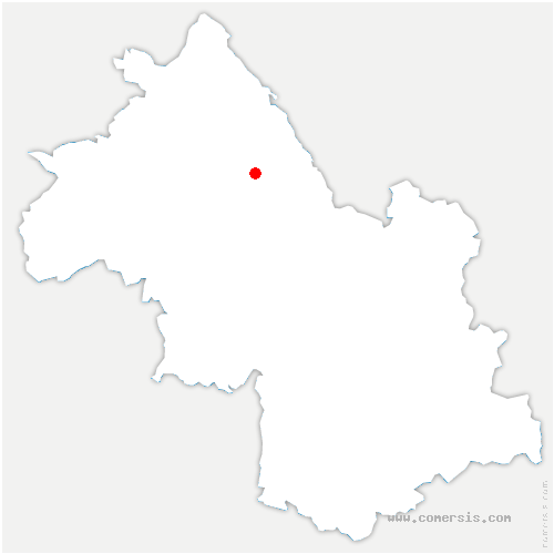 carte de localisation de Passage