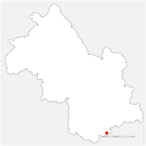 carte de localisation de Pellafol