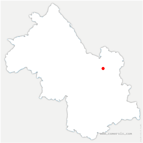 carte de localisation de Pierre