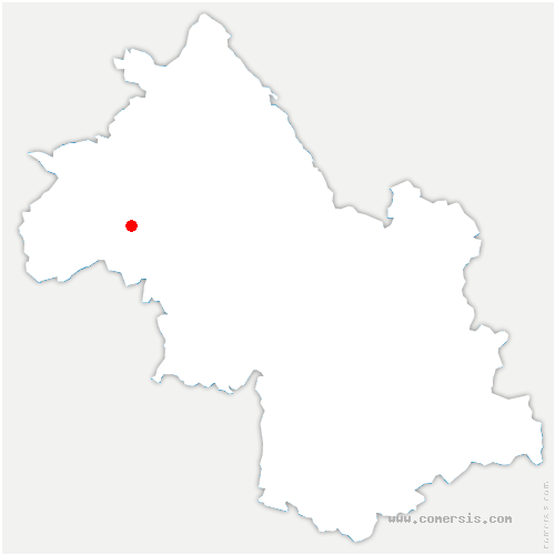 carte de localisation de Pisieu