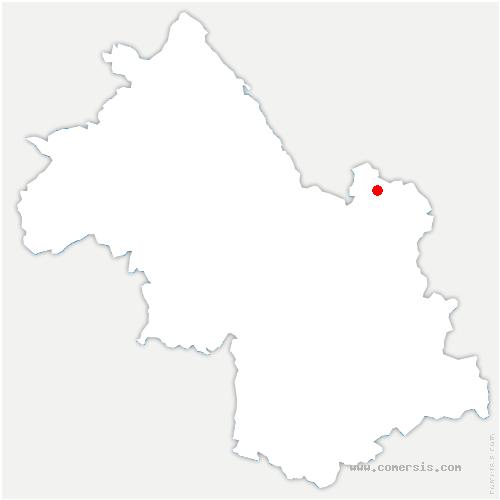carte de localisation de Pontcharra