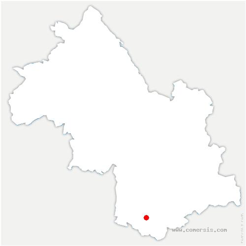 carte de localisation de Prébois