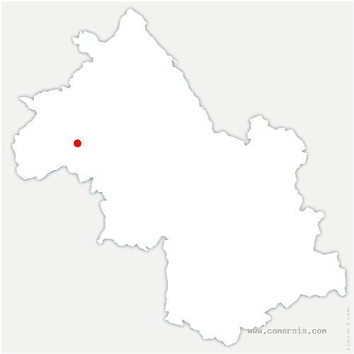 carte de localisation de Primarette