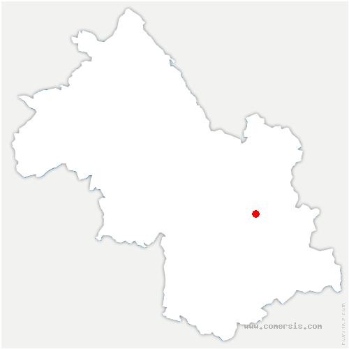 carte de localisation de Revel