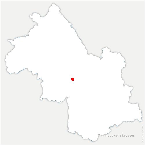 carte de localisation de Rivière