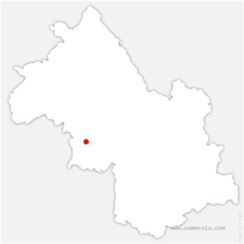 carte de localisation de Saint-Appolinard