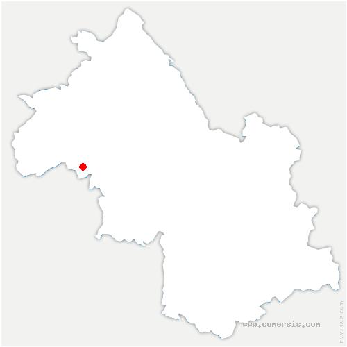 carte de localisation de Saint-Barthélemy