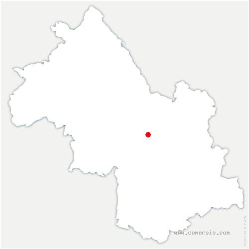 carte de localisation de Saint-Égrève