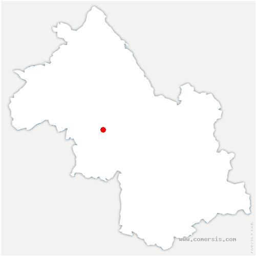 carte de localisation de Saint-Geoirs