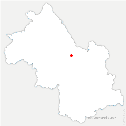 carte de localisation de Saint-Joseph-de-Rivière