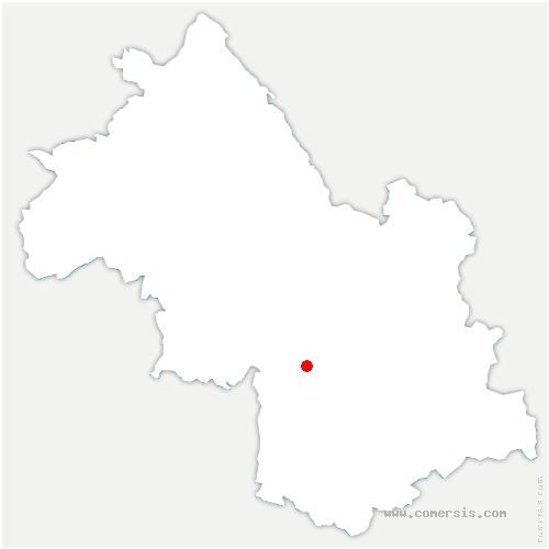 carte de localisation de Saint-Paul-de-Varces