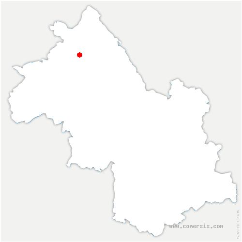 carte de localisation de Saint-Savin