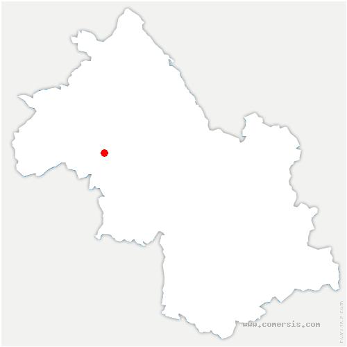 carte de localisation de Sardieu