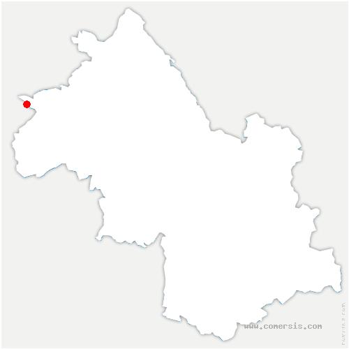 carte de localisation de Seyssuel