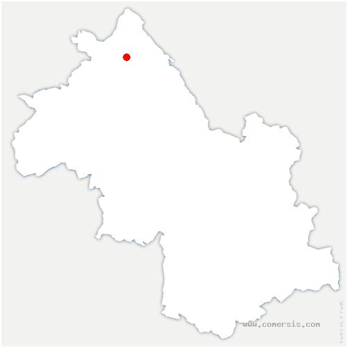 carte de localisation de Soleymieu