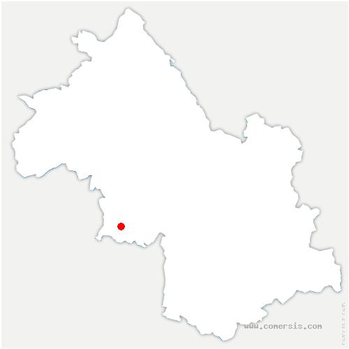 carte de localisation de Sône