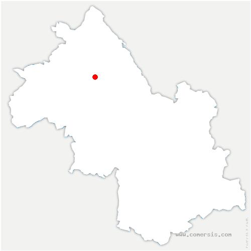 carte de localisation de Succieu