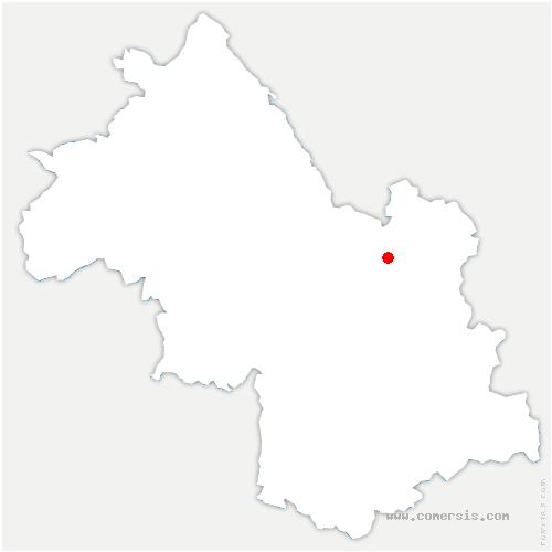 carte de localisation de Terrasse