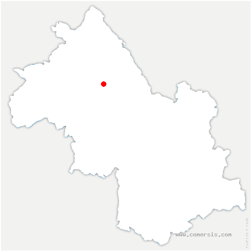 carte de localisation de Torchefelon