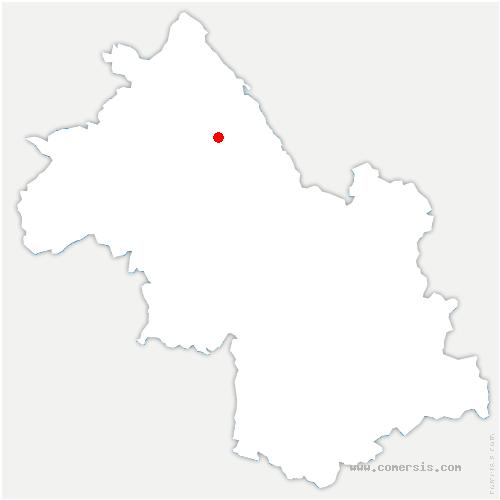 carte de localisation de Tour-du-Pin