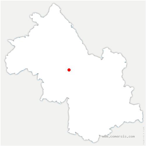carte de localisation de Tullins