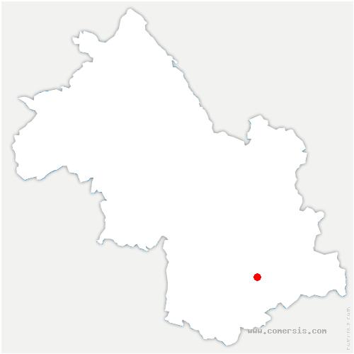 carte de localisation de Valbonnais