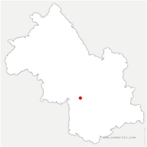 carte de localisation de Varces-Allières-et-Risset