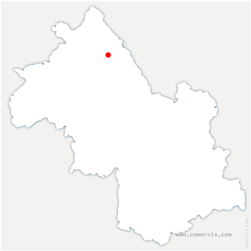 carte de localisation de Vasselin