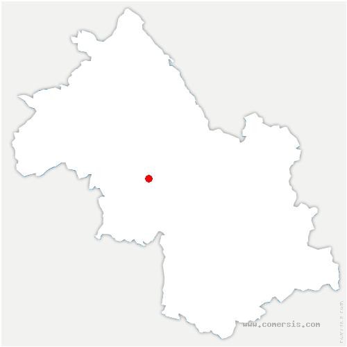 carte de localisation de Vatilieu