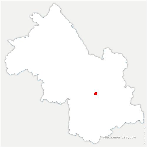 carte de localisation de Vaulnaveys-le-Haut
