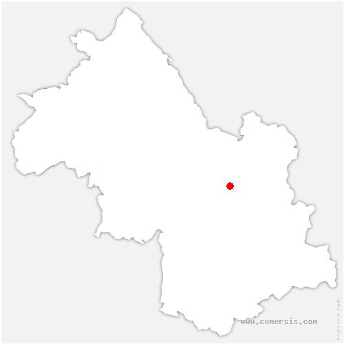 carte de localisation de Versoud