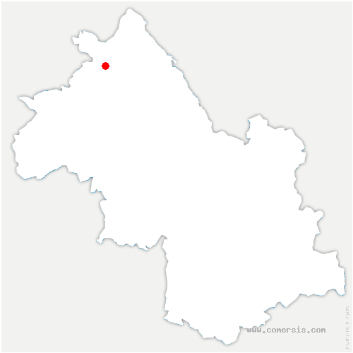 carte de localisation de Veyssilieu