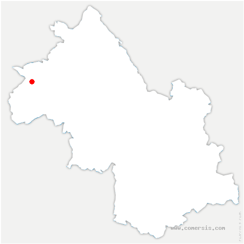 carte de localisation de Vienne