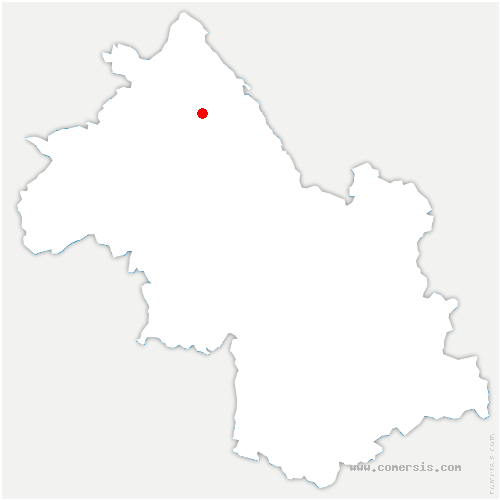 carte de localisation de Vignieu
