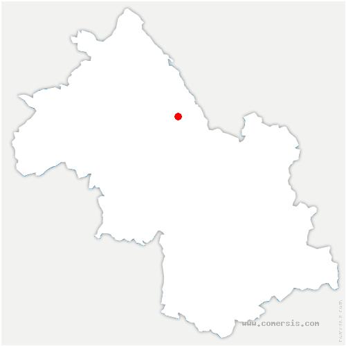 carte de localisation de Villages du Lac de Paladru