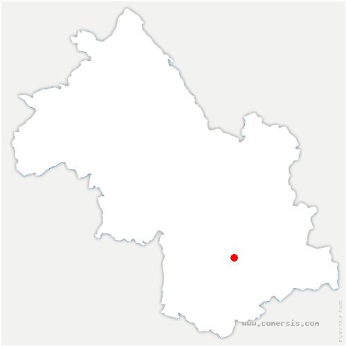 carte de localisation de Villard-Saint-Christophe