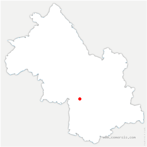 carte de localisation de Villard-de-Lans