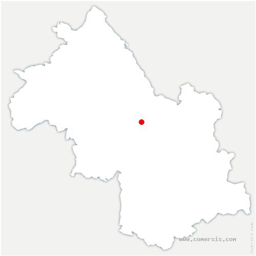 carte de localisation de Voreppe