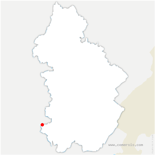 carte de localisation de Balanod