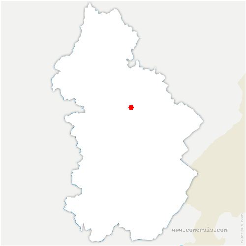 carte de localisation de Chamole