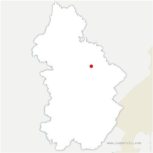 carte de localisation de Châtelaine
