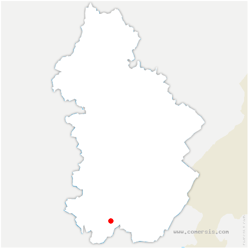 carte de localisation de Chisséria