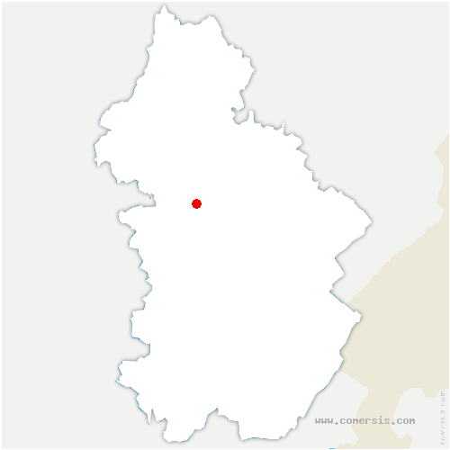 carte de localisation de Darbonnay